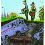 Bruno Haberzettl, Großkoalitionärer Garten Eden …, 2011 Kopie