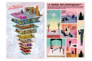 Le Monde diplomatique // OÖ Kulturquartier // 1. OG @ OÖ Kulturquartier