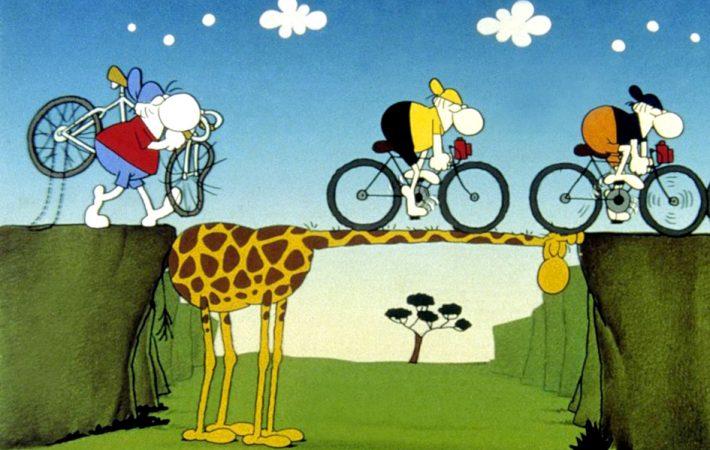 Bild: MORDILLO / Mordillo-Giraffe Copyright: KPA