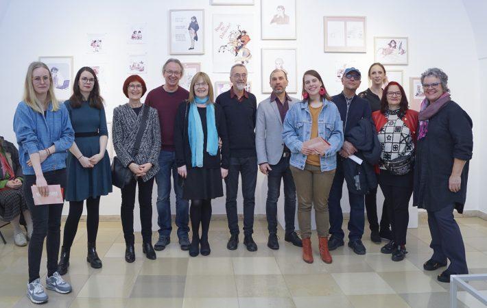 Die Kunstschaffenden Foto: V. Leitner